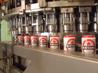 Automatic Can Filling and Seaming