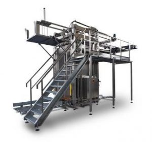 Canning line - High Level Can De-palletiser
