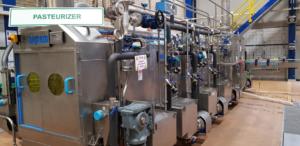 Pasteuriser Pipework and Pumps