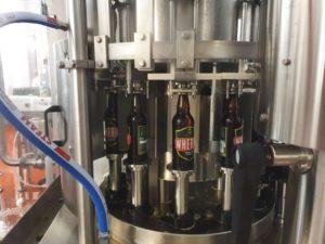 Beer rinser filler and capper