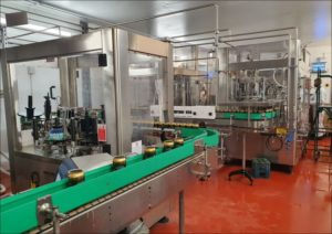 Flexible can and bottle filling line